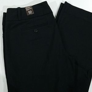 The Limited Exact Stretch Black Dress pants 10 reg